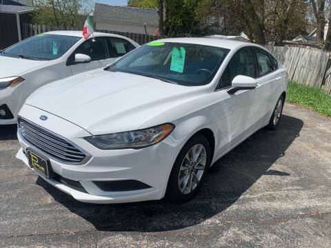 2017 Ford Fusion for sale at PAPERLAND MOTORS - Fresh Inventory in Green Bay WI