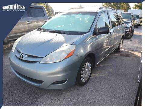 2006 Toyota Sienna for sale at BARTOW FORD CO. in Bartow FL