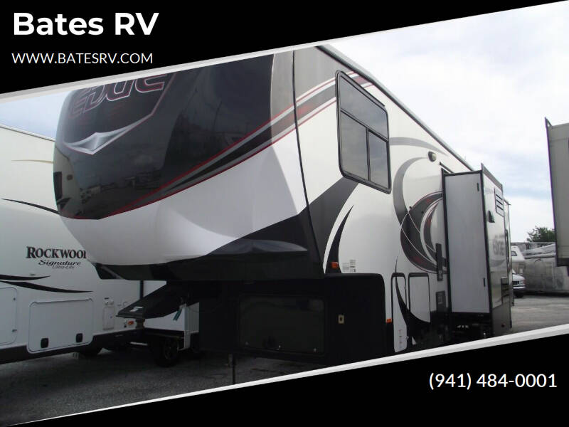 2016 Heartland Edge 357 Toy Hauler for sale at Bates RV in Venice FL