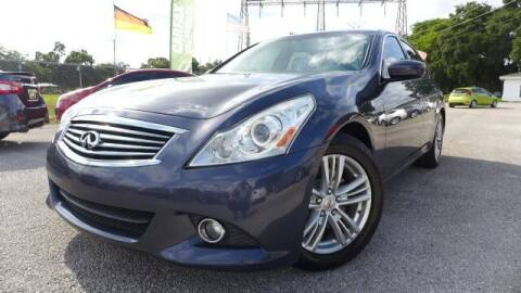 2012 Infiniti G37 Sedan for sale at Das Autohaus Quality Used Cars in Clearwater FL