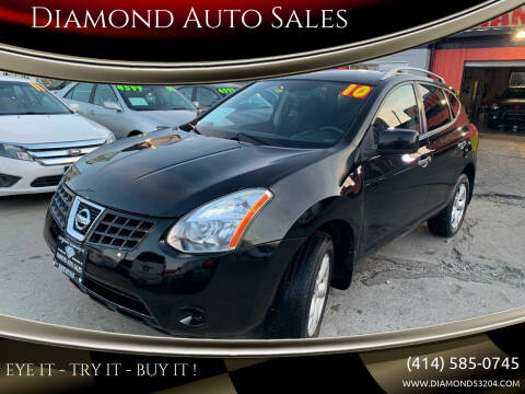 2010 Nissan Rogue for sale at Diamond Auto Sales in Milwaukee WI