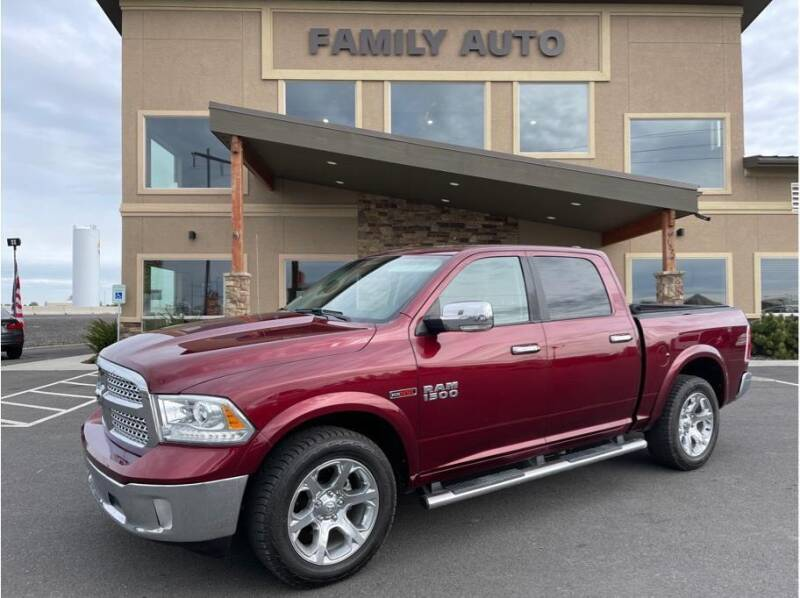 2016 RAM Ram Pickup 1500 for sale at Moses Lake Family Auto Center in Moses Lake WA