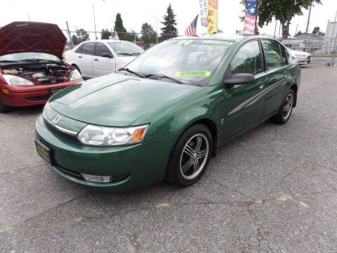 2004 Saturn Ion for sale at Gold Key Motors in Centralia WA