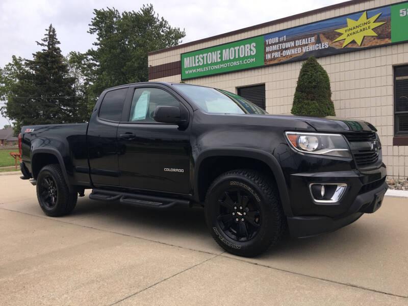 2016 Chevrolet Colorado for sale at MILESTONE MOTORS in Chesterfield MI