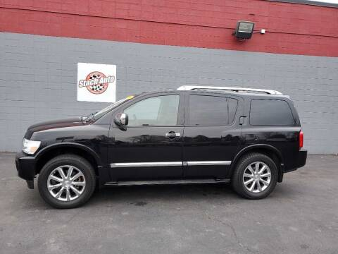 2008 Infiniti QX56 for sale at Stach Auto in Janesville WI