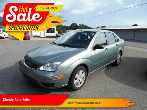 2006 Ford Focus for sale at Classic Auto Sales in Maiden NC