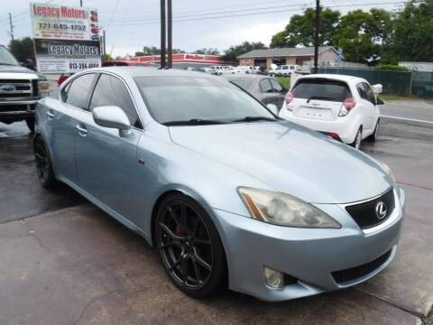 2007 Lexus IS 250 for sale at LEGACY MOTORS INC in New Port Richey FL
