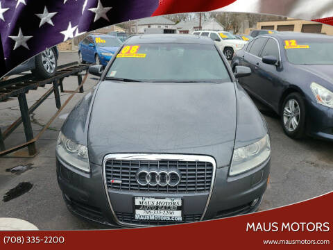 2008 Audi A6 for sale at MAUS MOTORS in Hazel Crest IL