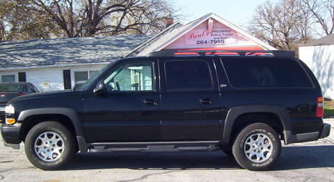 2003 Chevrolet Suburban for sale at PAUL'S PAINT & BODY SHOP in Des Moines IA