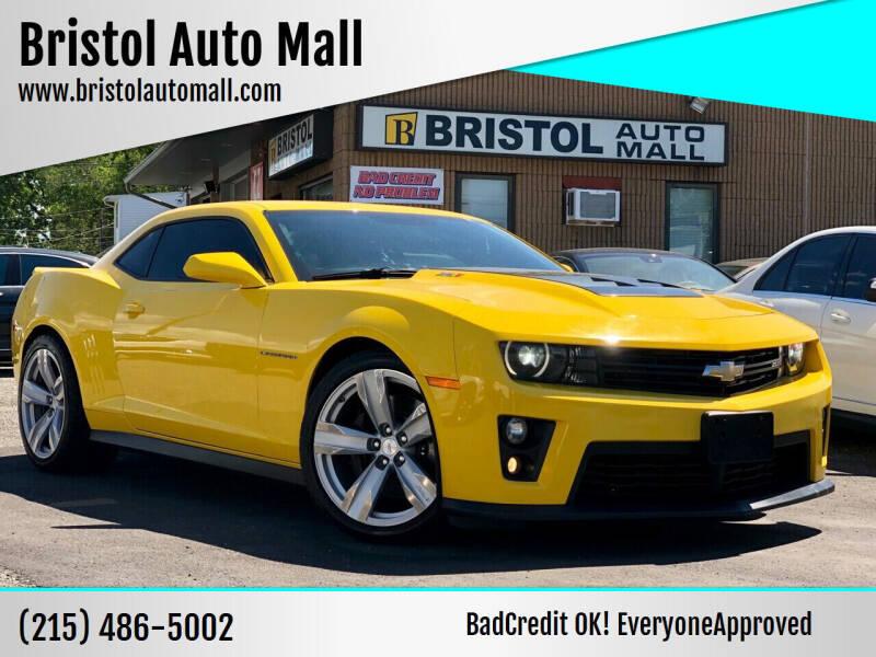2013 Chevrolet Camaro for sale at Bristol Auto Mall in Levittown PA