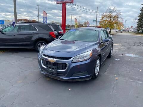 2015 Chevrolet Malibu for sale at Motornation Auto Sales in Toledo OH