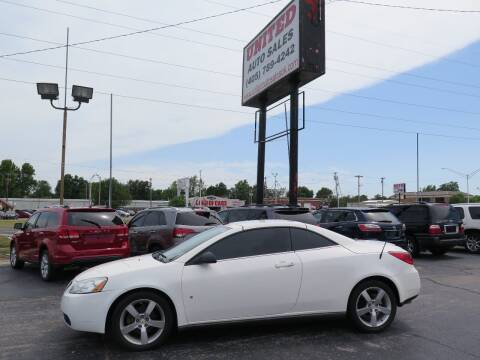 2008 Pontiac G6 for sale at United Auto Sales in Oklahoma City OK