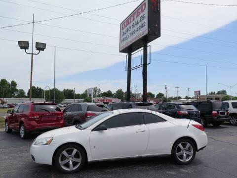 2008 Pontiac G6 for sale at United Auto Sales in Oklahoma City OK