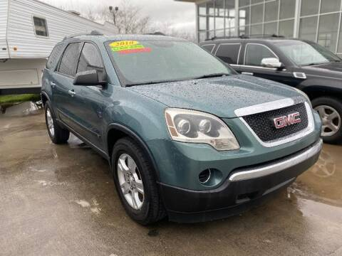 2010 GMC Acadia for sale at Autoway Auto Center in Sevierville TN