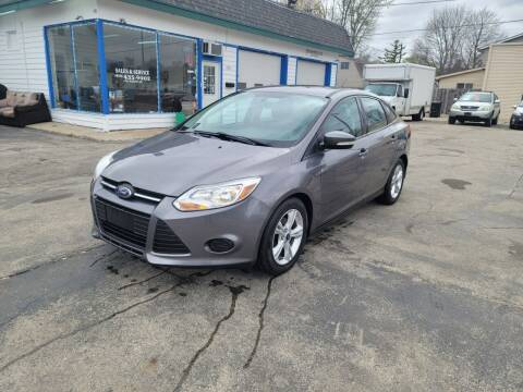 2014 Ford Focus for sale at MOE MOTORS LLC in South Milwaukee WI