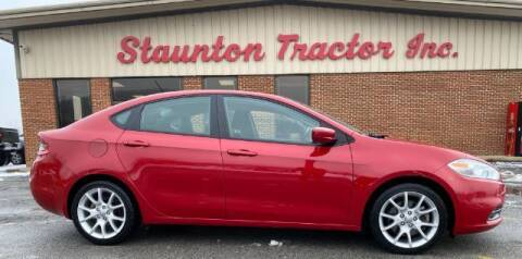 2013 Dodge Dart for sale at STAUNTON TRACTOR INC in Staunton VA