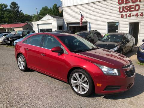 2011 Chevrolet Cruze for sale at George's Used Cars Inc in Orbisonia PA