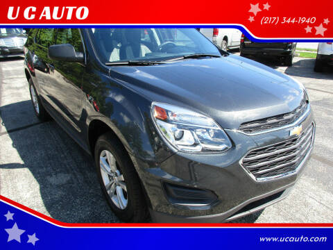 2017 Chevrolet Equinox for sale at U C AUTO in Urbana IL