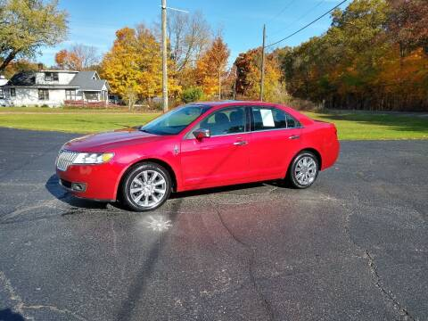 2012 Lincoln MKZ for sale at Depue Auto Sales Inc in Paw Paw MI