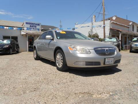 2008 Buick Lucerne for sale at Mountain Auto in Jackson CA