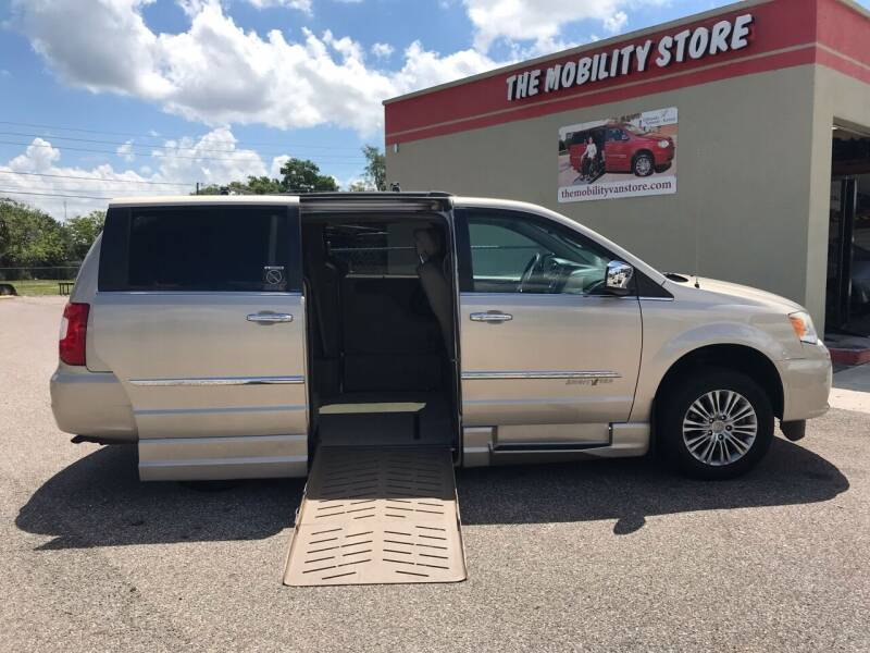 2013 Chrysler Town and Country for sale at The Mobility Van Store in Lakeland FL