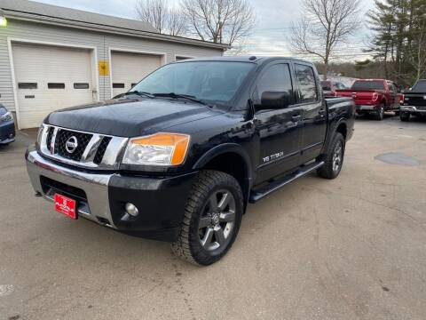2015 Nissan Titan for sale at AutoMile Motors in Saco ME