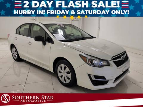 2015 Subaru Impreza for sale at Southern Star Automotive, Inc. in Duluth GA