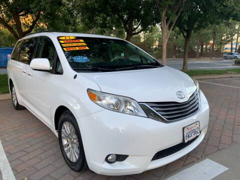 2012 Toyota Sienna for sale at Right Cars Auto Sales in Sacramento CA
