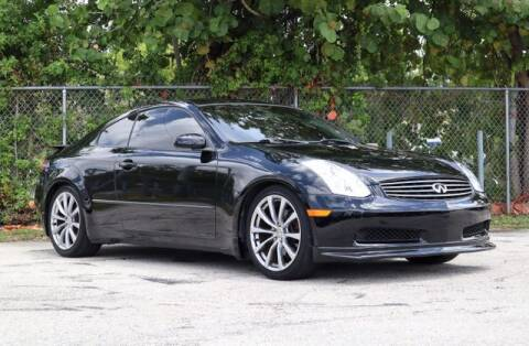 2005 Infiniti G35 for sale at No 1 Auto Sales in Hollywood FL