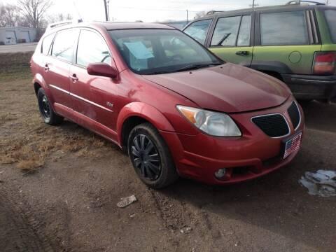 2005 Pontiac Vibe for sale at L & J Motors in Mandan ND