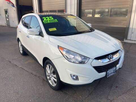 2012 Hyundai Tucson for sale at New England Motors of Leominster, Inc in Leominster MA