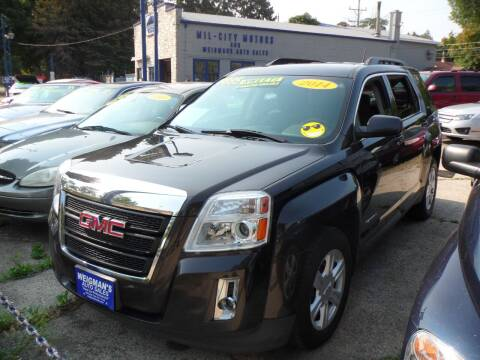2014 GMC Terrain for sale at Weigman's Auto Sales in Milwaukee WI