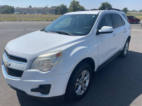 2010 Chevrolet Equinox for sale at BELOW BOOK AUTO SALES in Idaho Falls ID