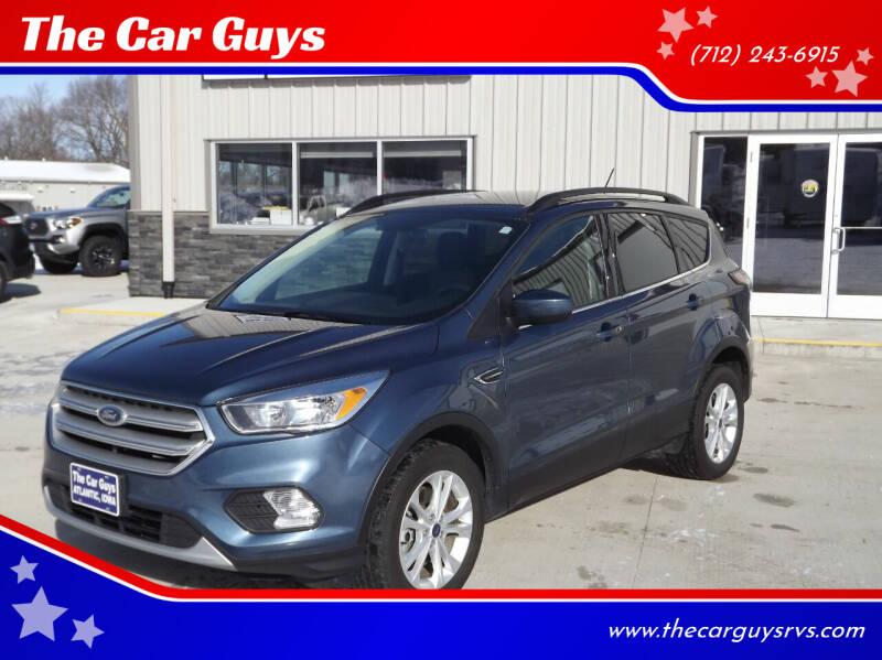 2018 Ford Escape for sale at The Car Guys RV & Auto in Atlantic IA