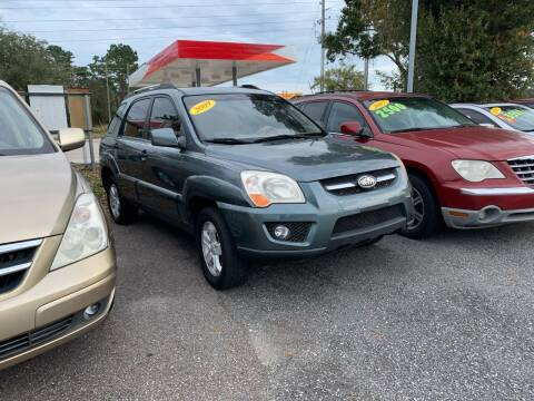 2009 Kia Sportage for sale at RAYS AUTOMOTIVE SALES & REPAIR INC in Longwood FL