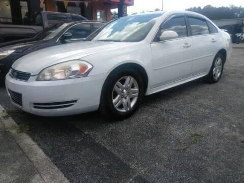 2011 Chevrolet Impala for sale at JacksonvilleMotorMall.com in Jacksonville FL