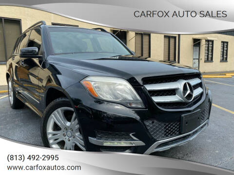 2013 Mercedes-Benz GLK for sale at Carfox Auto Sales in Tampa FL