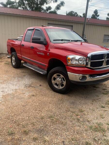 2006 Dodge Ram Pickup 2500 for sale at Murphy MotorSports of the Carolinas in Parkton NC