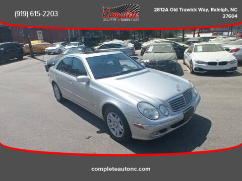 2004 Mercedes-Benz E-Class for sale at Complete Auto Center , Inc in Raleigh NC