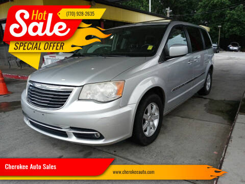 2012 Chrysler Town and Country for sale at Cherokee Auto Sales in Acworth GA