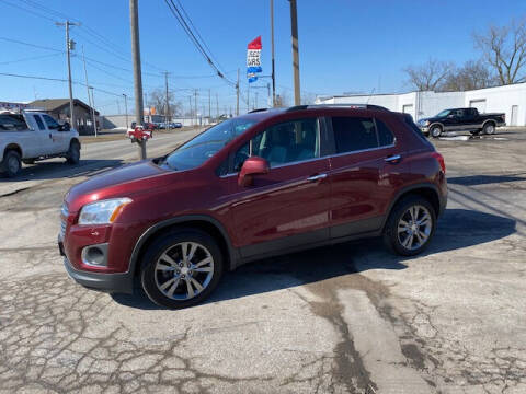 2016 Chevrolet Trax for sale at Bruce Kunesh Auto Sales Inc in Defiance OH