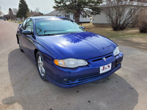2005 Chevrolet Monte Carlo for sale at J & S Auto Sales in Thompson ND