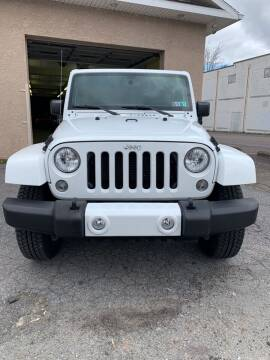 2015 Jeep Wrangler Unlimited for sale at Red Top Auto Sales in Scranton PA