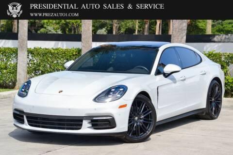 2017 Porsche Panamera for sale at Presidential Auto  Sales & Service in Delray Beach FL