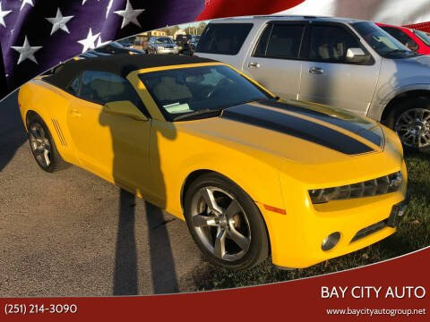 2011 Chevrolet Camaro for sale at Bay City Auto's in Mobile AL