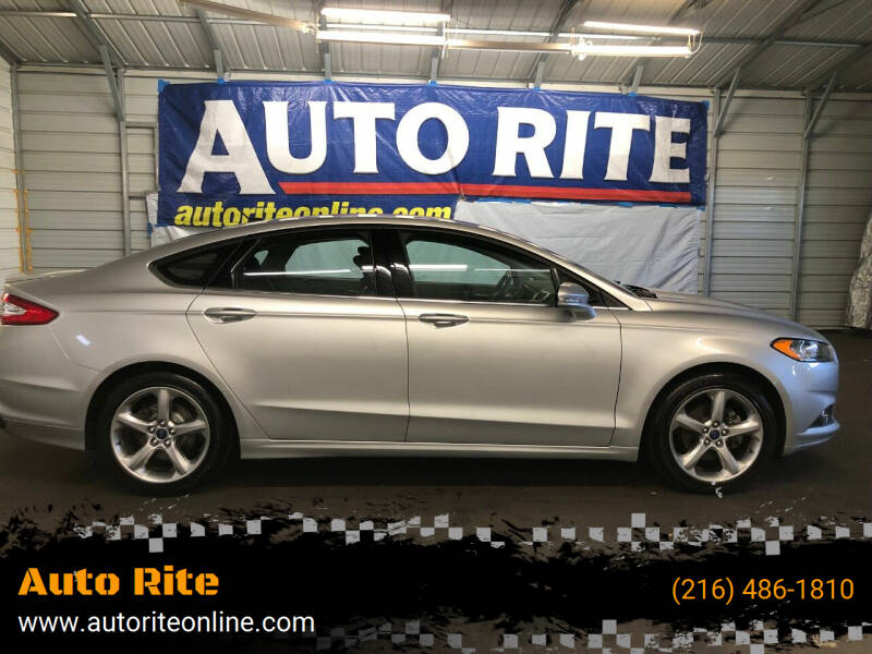 2014 Ford Fusion for sale at Auto Rite in Bedford Heights OH