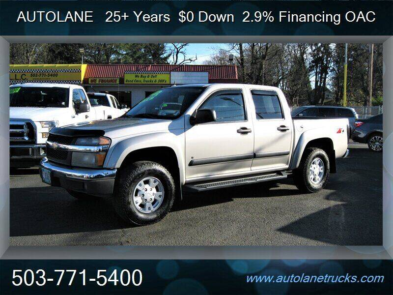 2008 Chevrolet Colorado for sale at Auto Lane in Portland OR