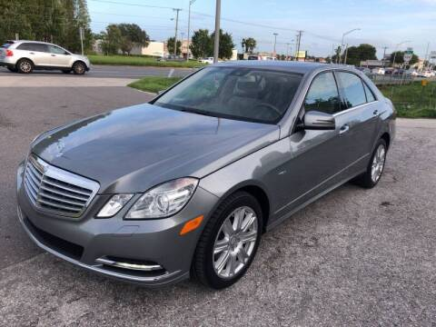 2012 Mercedes-Benz E-Class for sale at Reliable Motor Broker INC in Tampa FL