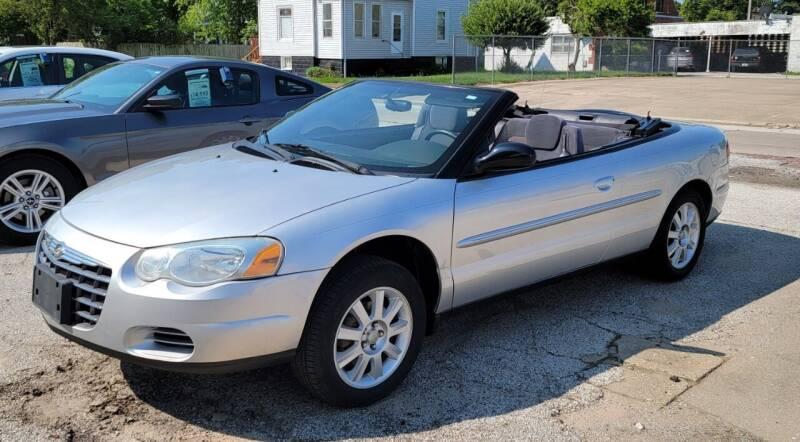 2006 Chrysler Sebring for sale at Team Knipmeyer in Beardstown IL