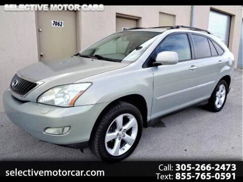 2008 Lexus RX 350 for sale at Selective Motor Cars in Miami FL
